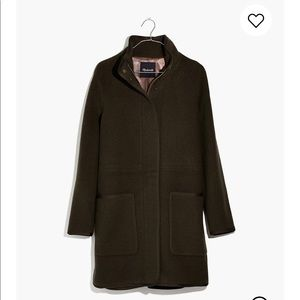 Madewell estate caccoon coat XS